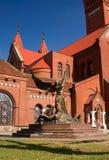 Capital de Minsk de Belarus fotos de stock royalty free