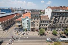 Capital de Sófia, Bulgária do centro Fotos de Stock