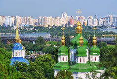 Capital de Ucrânia - Kiev fotografia de stock
