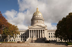 Capital de Virginia Occidental Fotos de archivo