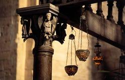 Capital del altar Imagenes de archivo