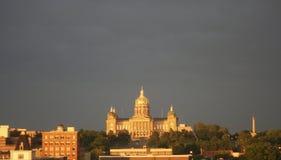 Capital del DES Moins Fotografía de archivo libre de regalías