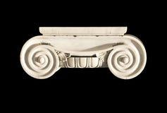 Capital del griego clásico aislado imagen de archivo
