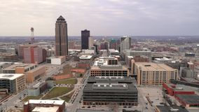 Capital do estado de Iowa da opinião de Aeiral de Des Moines filme