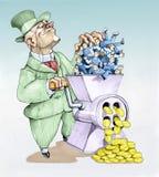 Capital do trabalho ilustração royalty free