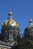 Capital Dome. Twin Domes Of Capital Building Royalty Free Stock Images