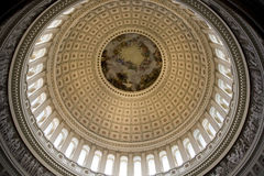 Capital Dome Inside Center Royalty Free Stock Photography