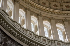 Capital Dome Inside Curve Left Royalty Free Stock Photo