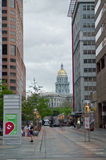 Capital du Colorado à Denver du centre Image stock