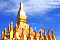 Capital du Laos Photographie stock libre de droits