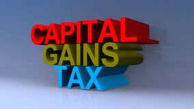 Capital gains tax on blue