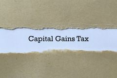 Capital gains tax on paper