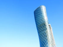 Capital Gate Abu Dhabi Exhibition Center Stock Photography
