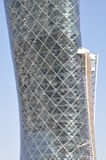The Capital Gate Tower in Abu Dhabi, UAE Royalty Free Stock Photo