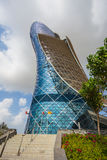The Capital Gate Tower. ABU DHABI, UAE - NOVEMBER 5: The Capital Gate Tower on the November 5, 2013 in Abu Dhabi, This is certified as the World's Furthest Royalty Free Stock Image