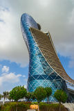The Capital Gate Tower Royalty Free Stock Photography