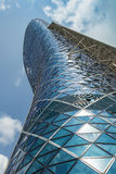 The Capital Gate Tower Royalty Free Stock Photo