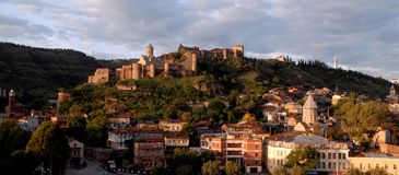 Capital of Georgia Tbilisi Stock Photography