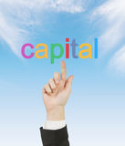 Capital Royalty Free Stock Image