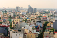 Capital Hanoi cityscape at afternoon Stock Photo