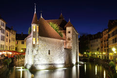 The capital of the Haute-Savoie - Annecy Royalty Free Stock Image
