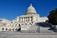 Capital Hill Building. In Washington DC Royalty Free Stock Photography
