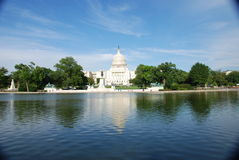 Capital Hill, Washington DC Royalty Free Stock Photography