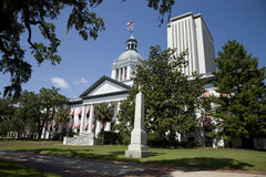 Capital historique de la Floride à Tallahassee Photo stock