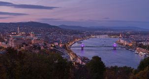 Budapest on the premature world day royalty free stock images