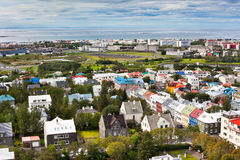 Capital of Iceland, Reykjavik, view Stock Photography