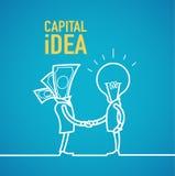 Capital idea business Royalty Free Stock Photo