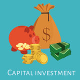 Capital investment Royalty Free Stock Image
