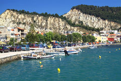 Capital of the island of Zakynthos Stock Photo