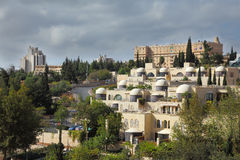 The capital of Israel - Jerusalem Royalty Free Stock Images