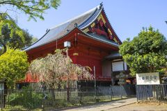 Tokyo, Japan, Temple, Ganhaizi in the Park Ueno. Stock Photo