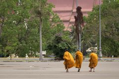 The capital of Laos, Vientiane Royalty Free Stock Photo