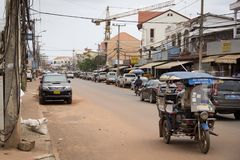 The capital of Laos, Vientiane Stock Photos