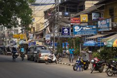 The capital of Laos, Vientiane Stock Images