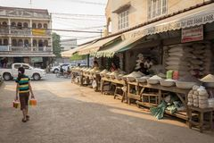 The capital of Laos, Vientiane Royalty Free Stock Image