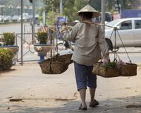 The capital of Laos, Vientiane Royalty Free Stock Photography