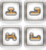 Capital letters Stock Photo