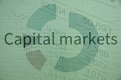 Capital markets Royalty Free Stock Photos