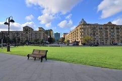 Capital of modern Azerbaijan,City Baku royalty free stock image