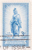 Capital nacional Sesquicentennial de 1950 sellos Fotografía de archivo