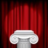 Capital no vermelho Imagens de Stock