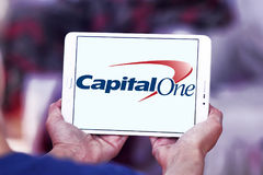 Capital one bank logo Royalty Free Stock Images