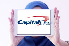 Capital one bank logo Royalty Free Stock Photo