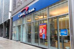 Capital One Bank royalty free stock image