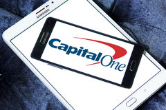 Capital one logo Stock Image