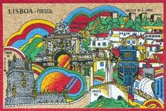 Capital of Portugal - Lisbon Stock Photo